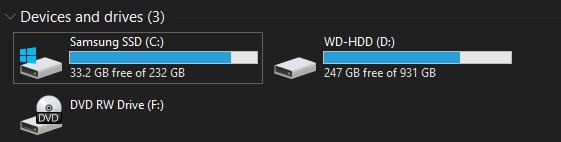 Windows-Disk-Storage-Space
