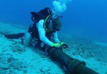 pomorski optički kabel
