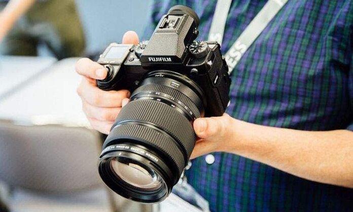DSLR foto aparati