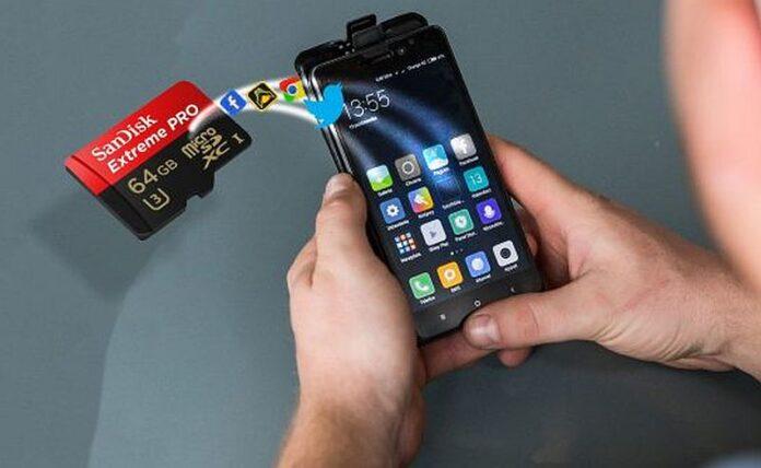 Kako prebaciti aplikacije na SD karticu