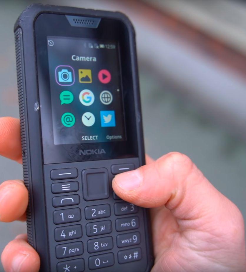Nokia 800 Tough KAMERA