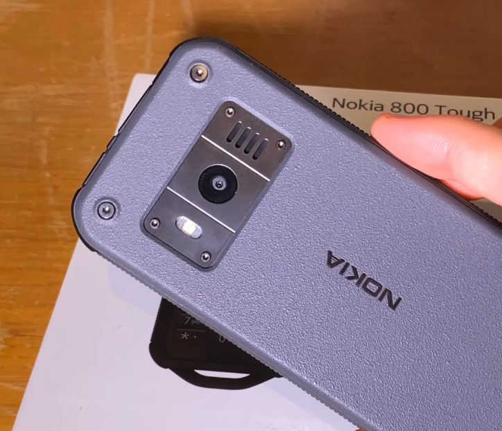 Nokia 800 Tough KAMERe