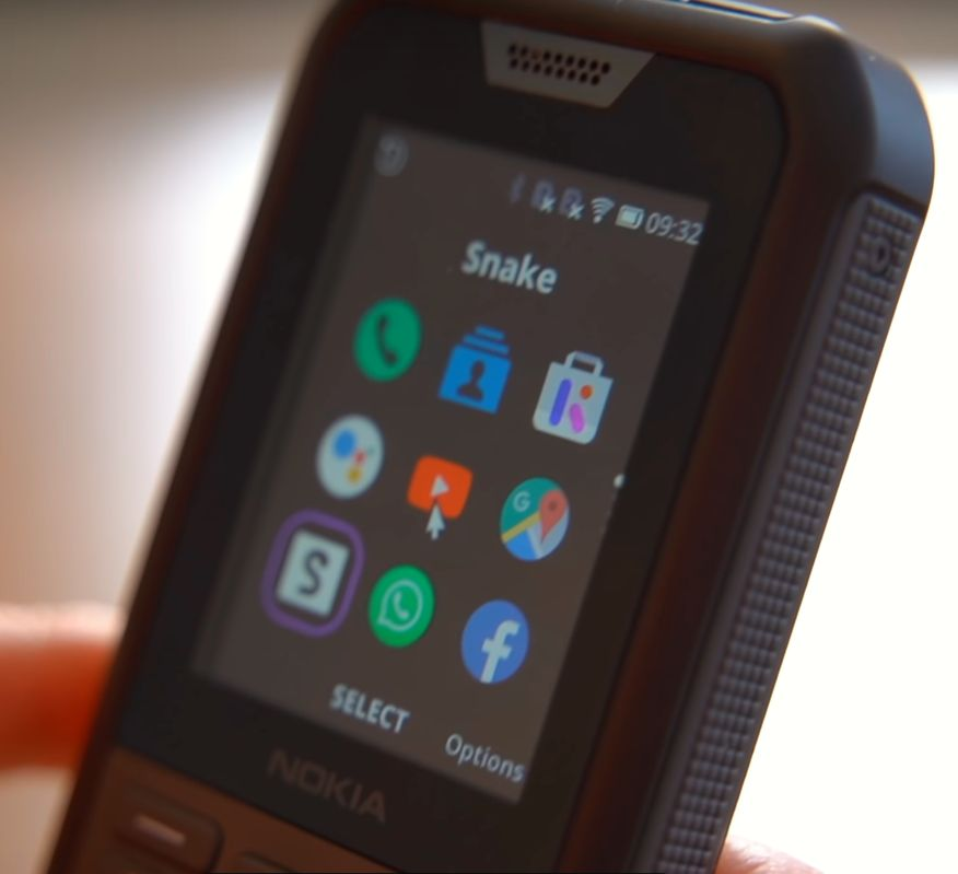 Nokia 800 Tough zaslon