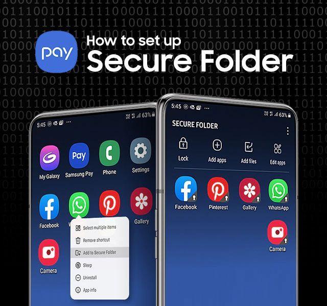 kako postaviti samsung-secure-folder