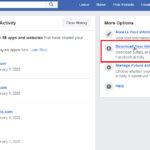 download fb activity 1