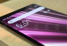 smartfon ekran