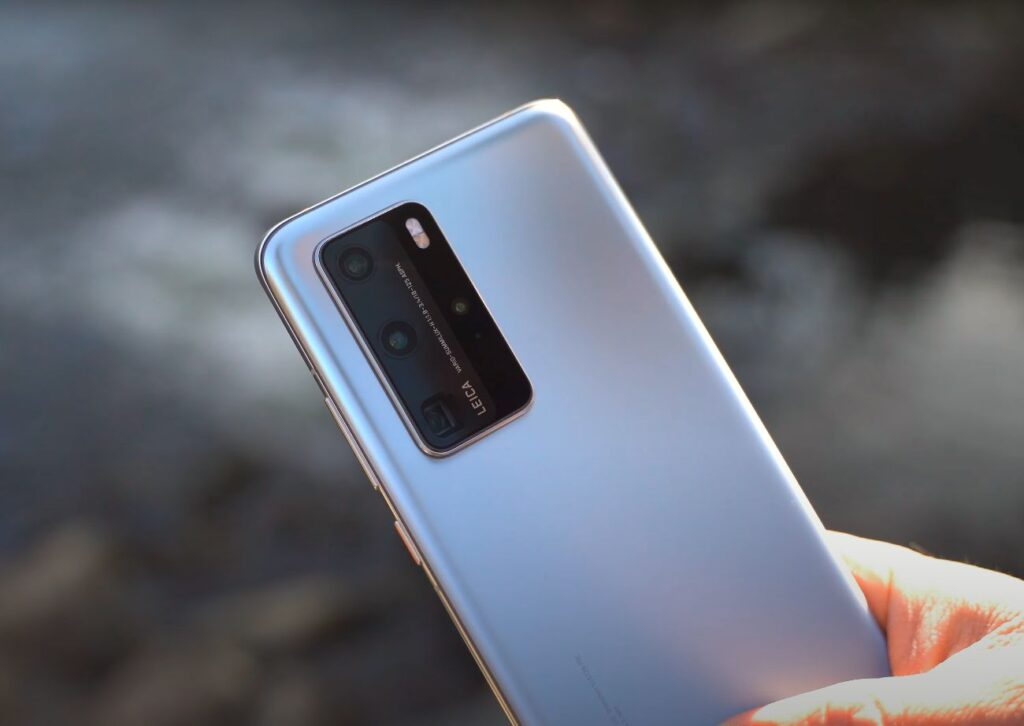 Huaweija P40 Pro glavna kamera
