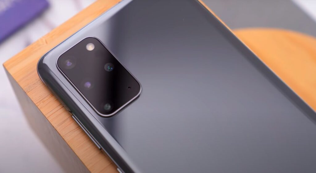 Samsung Galaxy S20+ kamere