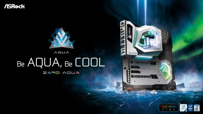 ASRock Launches the Z490 AQUA Flagship Motherboard_Theme