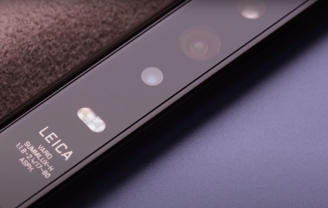 Huawei Mate Xs kamera
