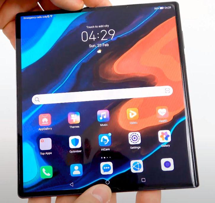 Huawei Mate Xs recenzija