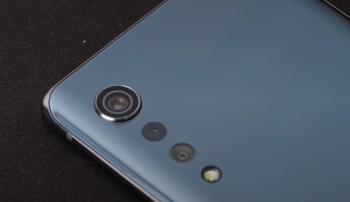 LG Velvet kamera