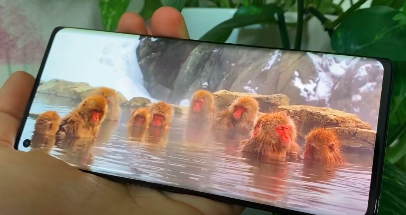 Motorola Edge plus ekran