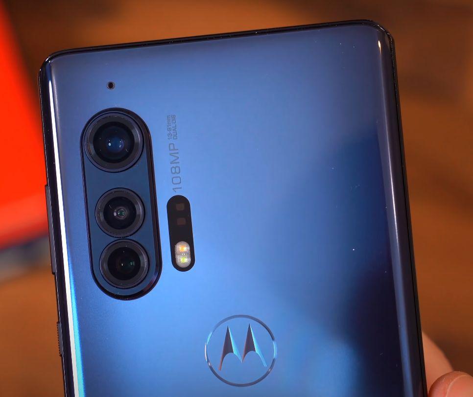 Motorola Edge plus kamera