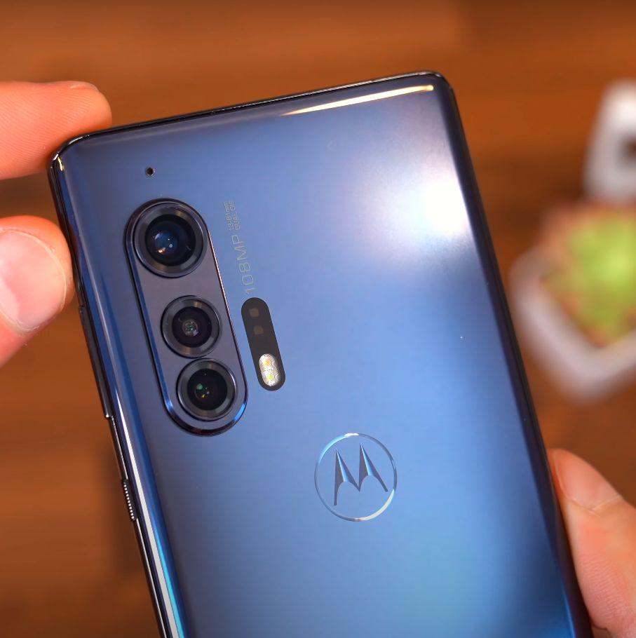 Motorola Edge plus kamere