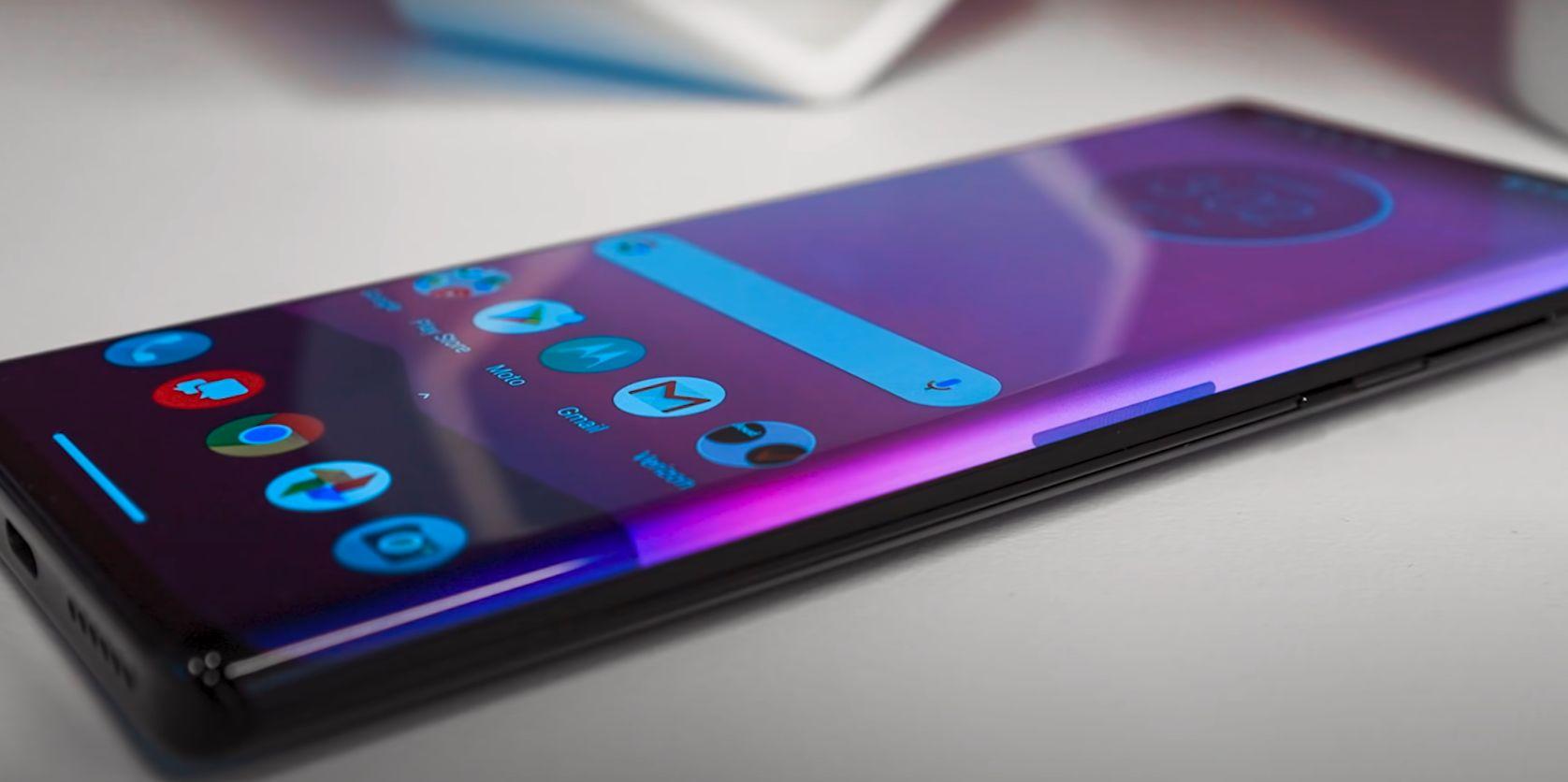 Motorola Edge plus test