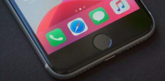 iPhone SE 2020 home tipka
