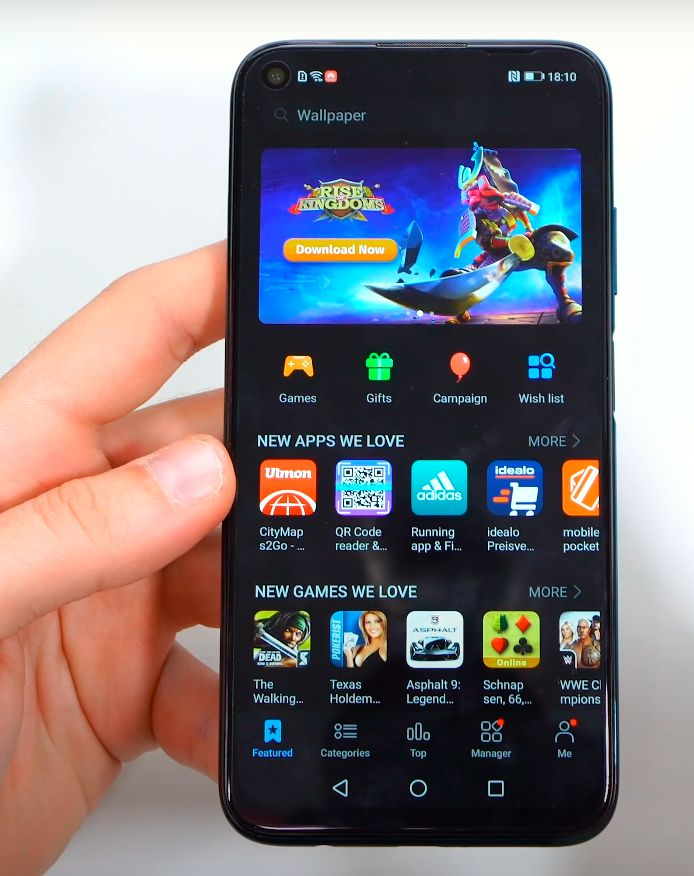 Huawei P40 Lite aplikacije