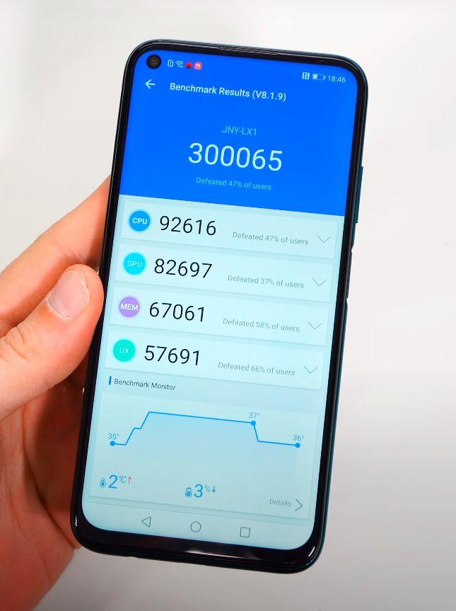 Huawei P40 Lite benchmark