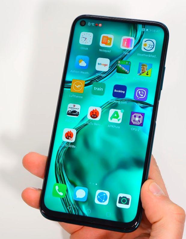 Huawei P40 Lite ekran