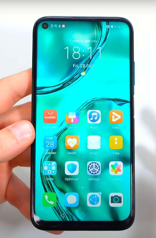 Huawei P40 Lite zaslon