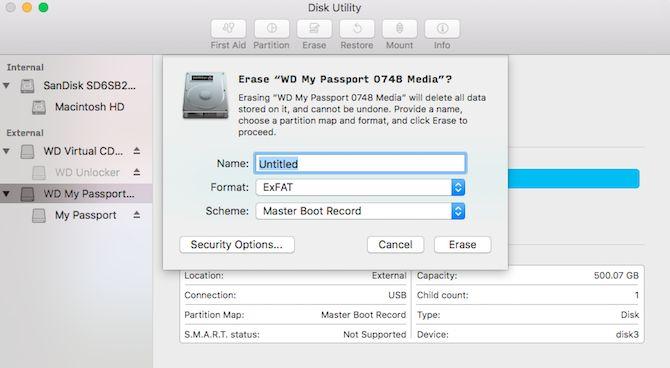 Kako formatirati USB na exFAT
