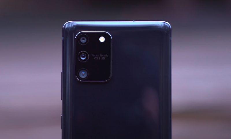 Samsung Galaxy S10 Lite kamere
