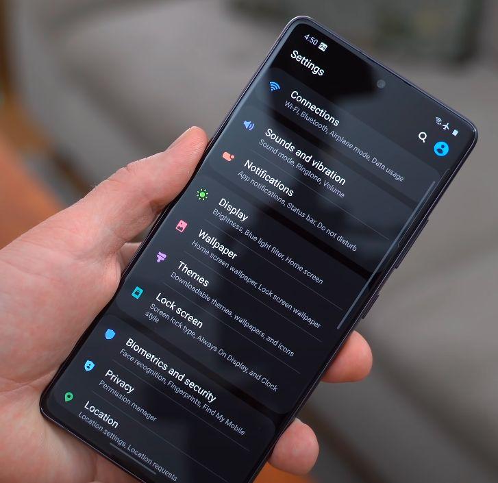 Samsung Galaxy S10 Lite softver