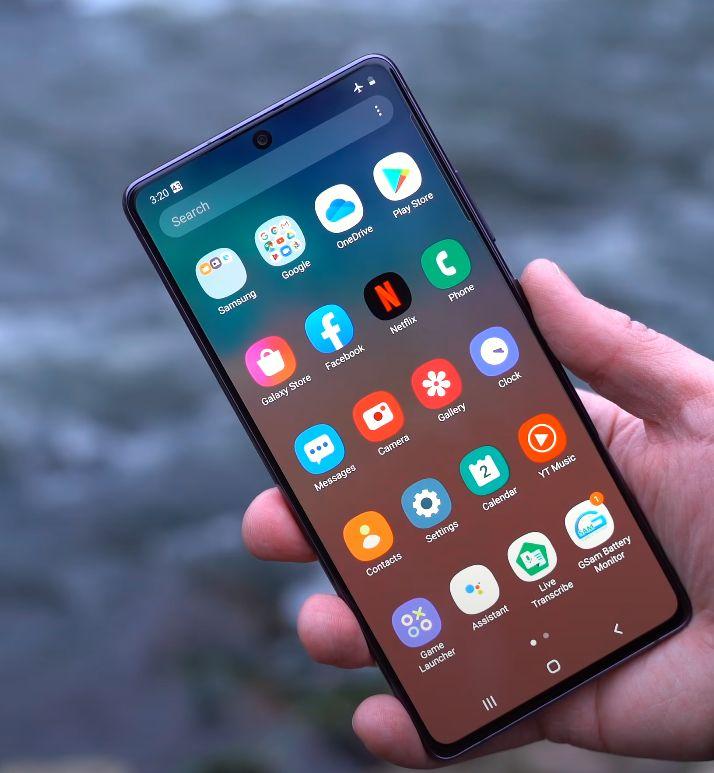 Samsung Galaxy S10 Lite test