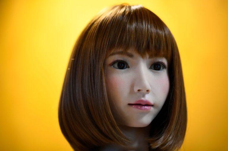 AI robot Erica