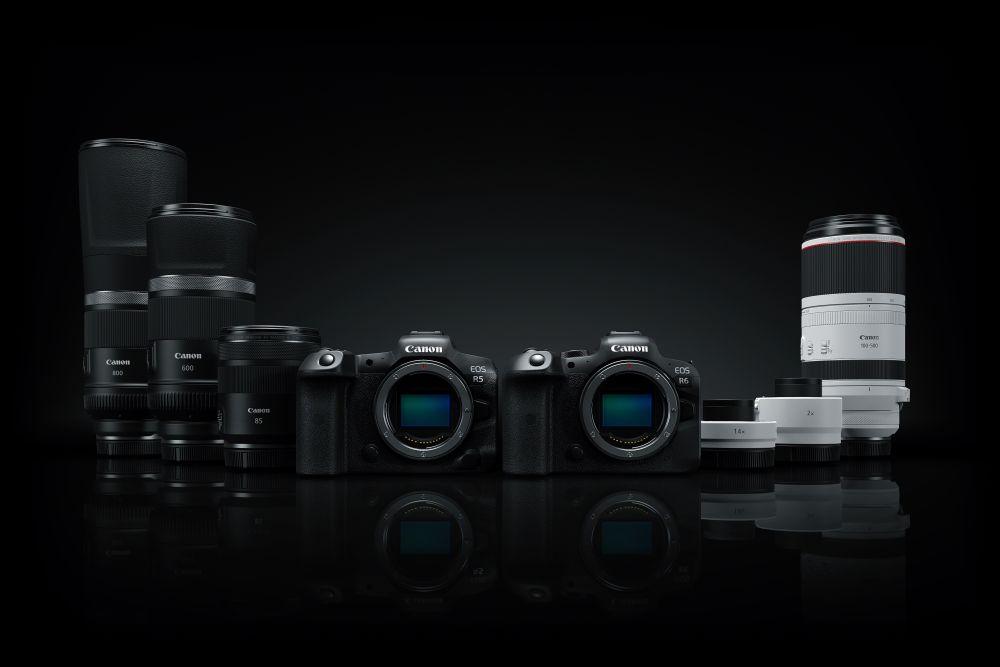 Канон EOS R5 и EOS R6 со нови леќи и конвертори
