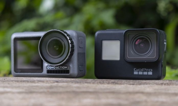 GoPro Hero 8 Black vs. DJI Osmo Action