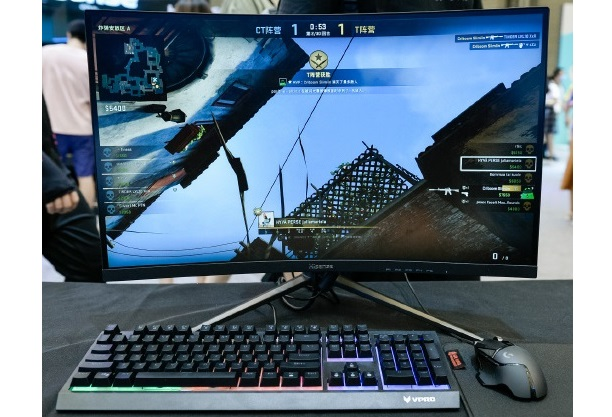 Hisense Hardcore Gaming Monitor