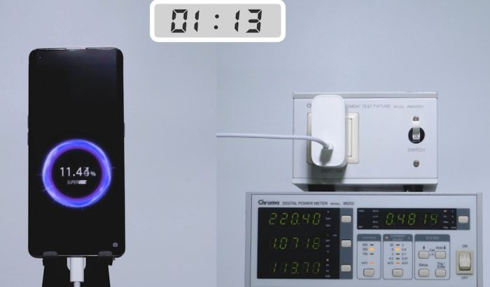 Oppo-125W-charging
