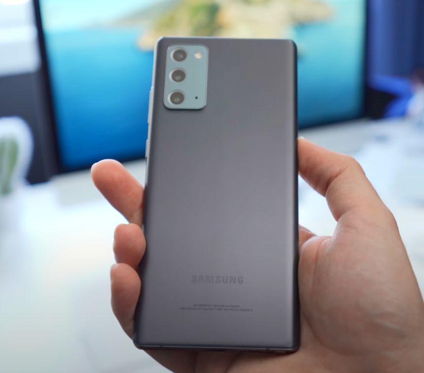 Samsung Galaxy Note 20 kamere
