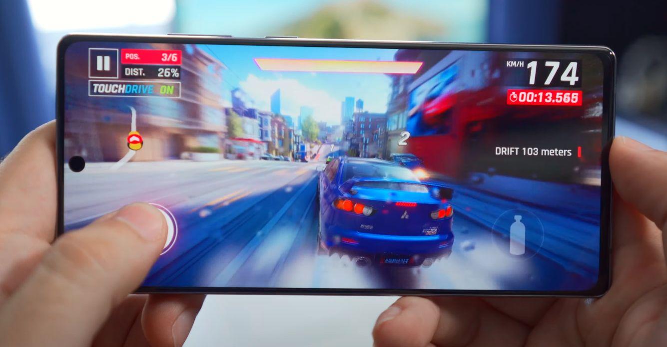 Samsung Galaxy Note 20 performanse
