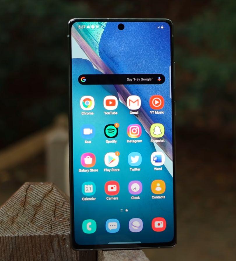 Samsung Galaxy Note 20 recenzija