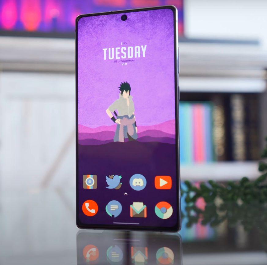 Samsung Galaxy Note 20 zaslon