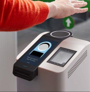 amazon one inovativni koncept trgovina kupnja otisak dlana