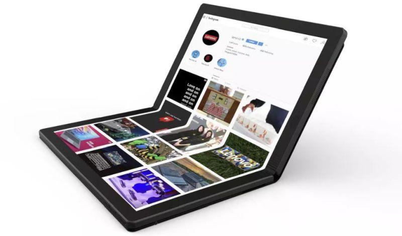 novi lenovo savitljivi laptop fold lenovo