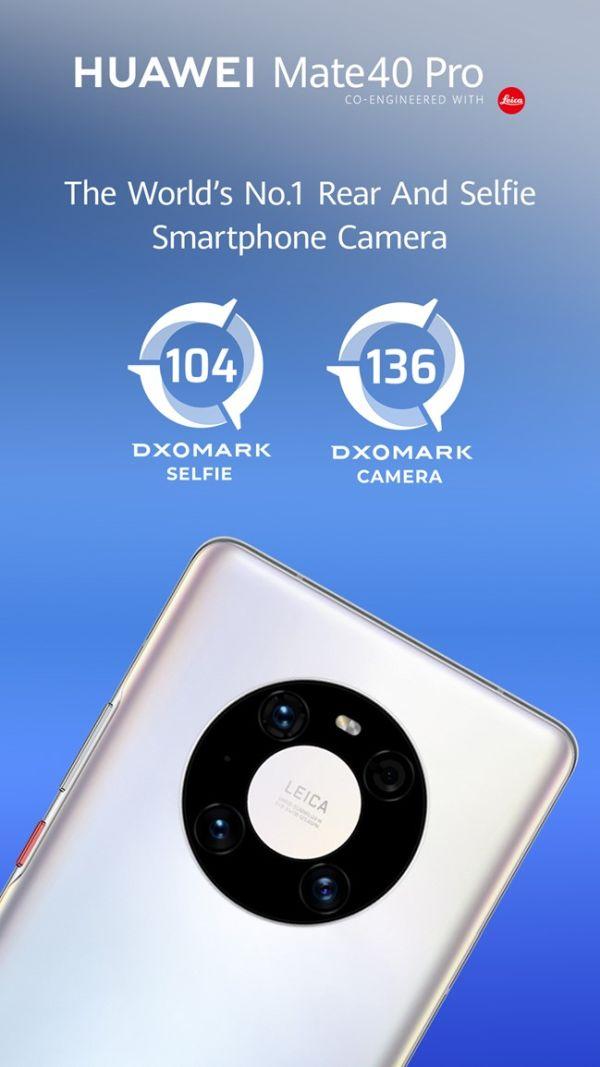 Huawei Mate 40 Pro na vrhu DxOMark ljestvice (4)