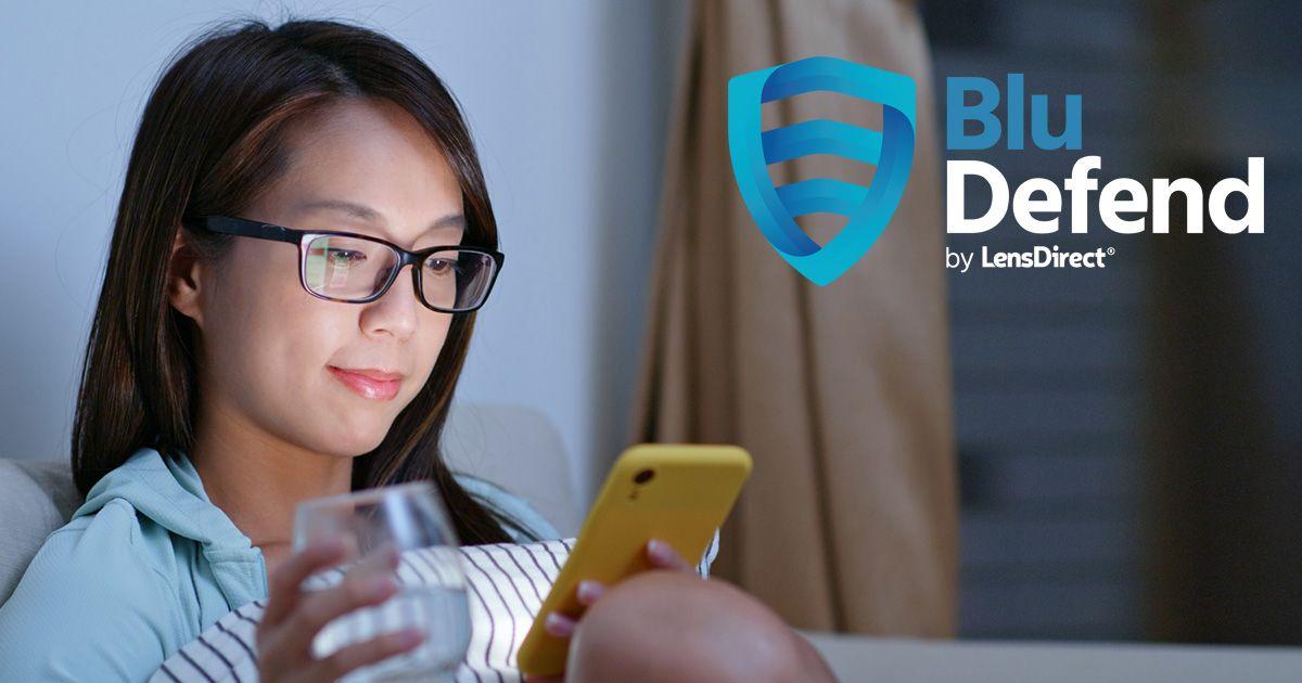 LensDirect BluDefend Blue Light-Blocking Frames
