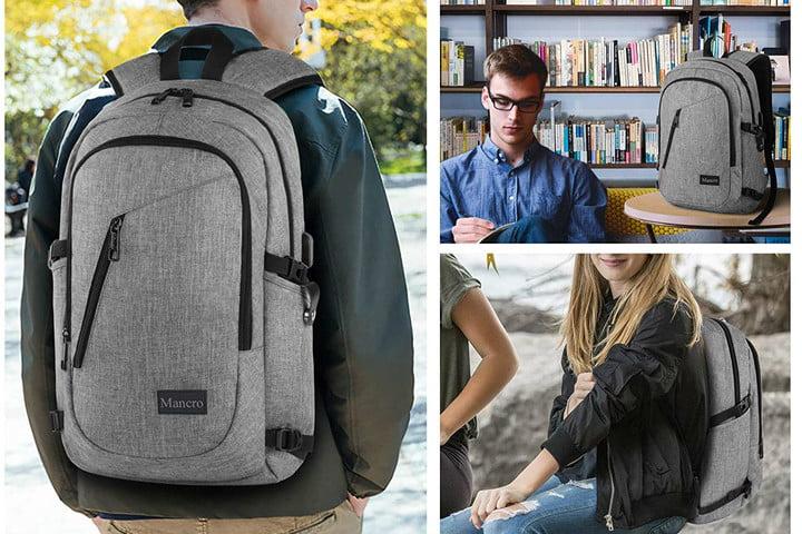 Mancro ruksak za prijenosna računala s priključkom za punjenje