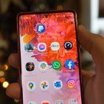 Samsung Galaxy S20 FE ekran