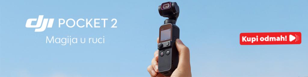 nova dji pocket kamera stabilizator