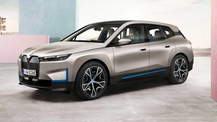 novo elelktrično vozilo BMW iX automobil