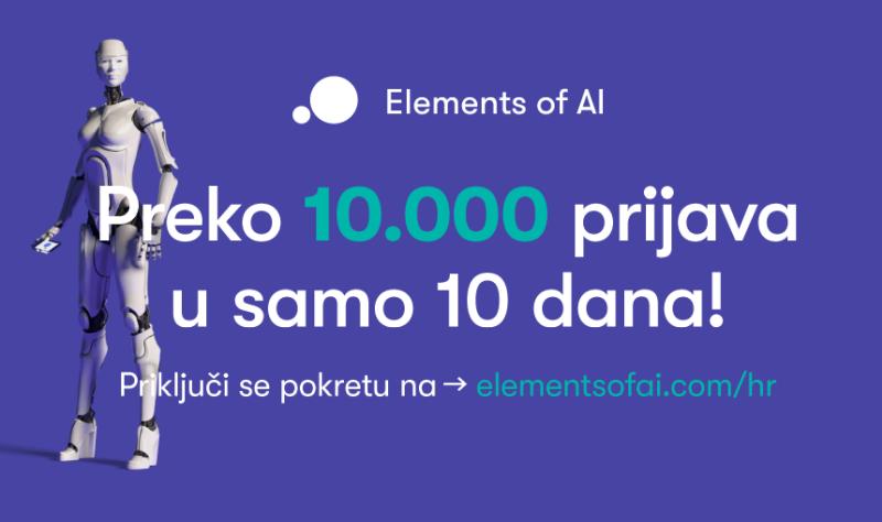 Elements od AI - Više od 10 tisuća upisanih polaznika u 10 dana