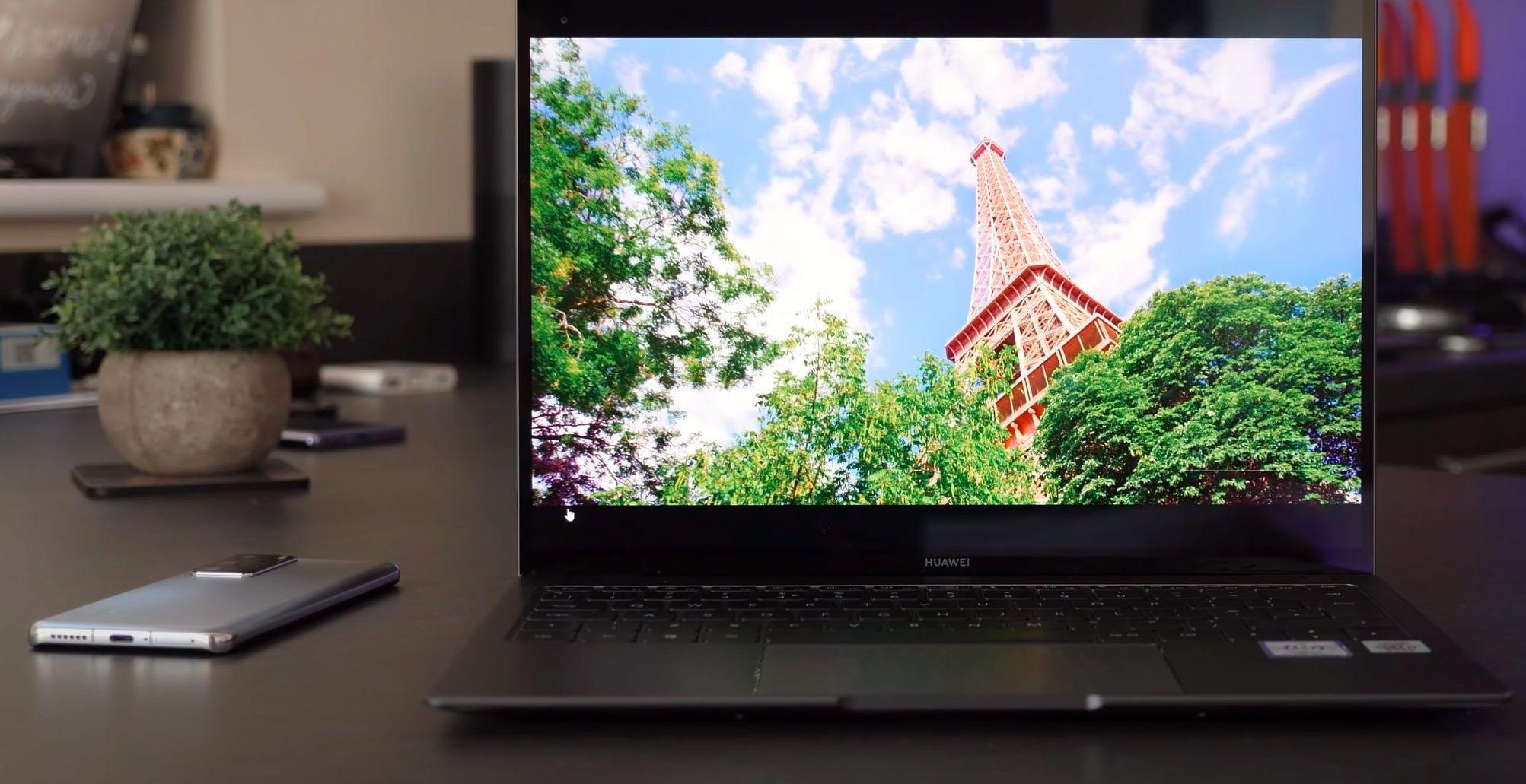 MateBook X Pro (2020.) Zaslon