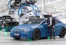 novi Mercedes-EQ, EQS električni automobili mercedes