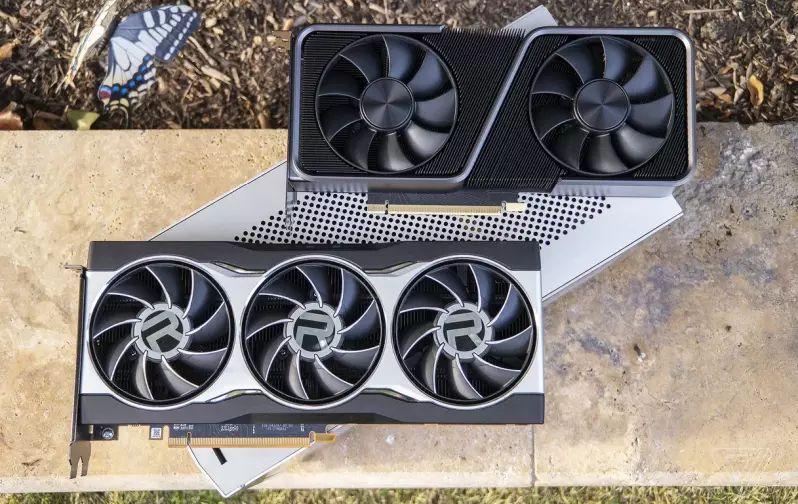 Nvidia GeForce RTX 3070 i AMD Radeon RX 6800